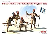 ■ ICM 【希少】 1/35 イタリア軍 エリトリアン植民地部隊 1939-1940