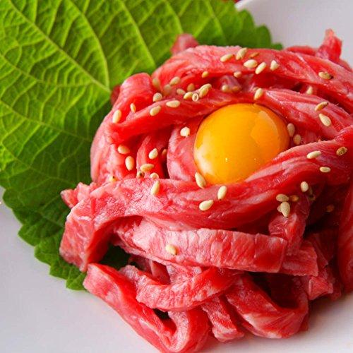 生食用 宮崎県産 黒毛和牛ユッケ50g (厚生労働省 新基準で製造した商品です。) (50g)