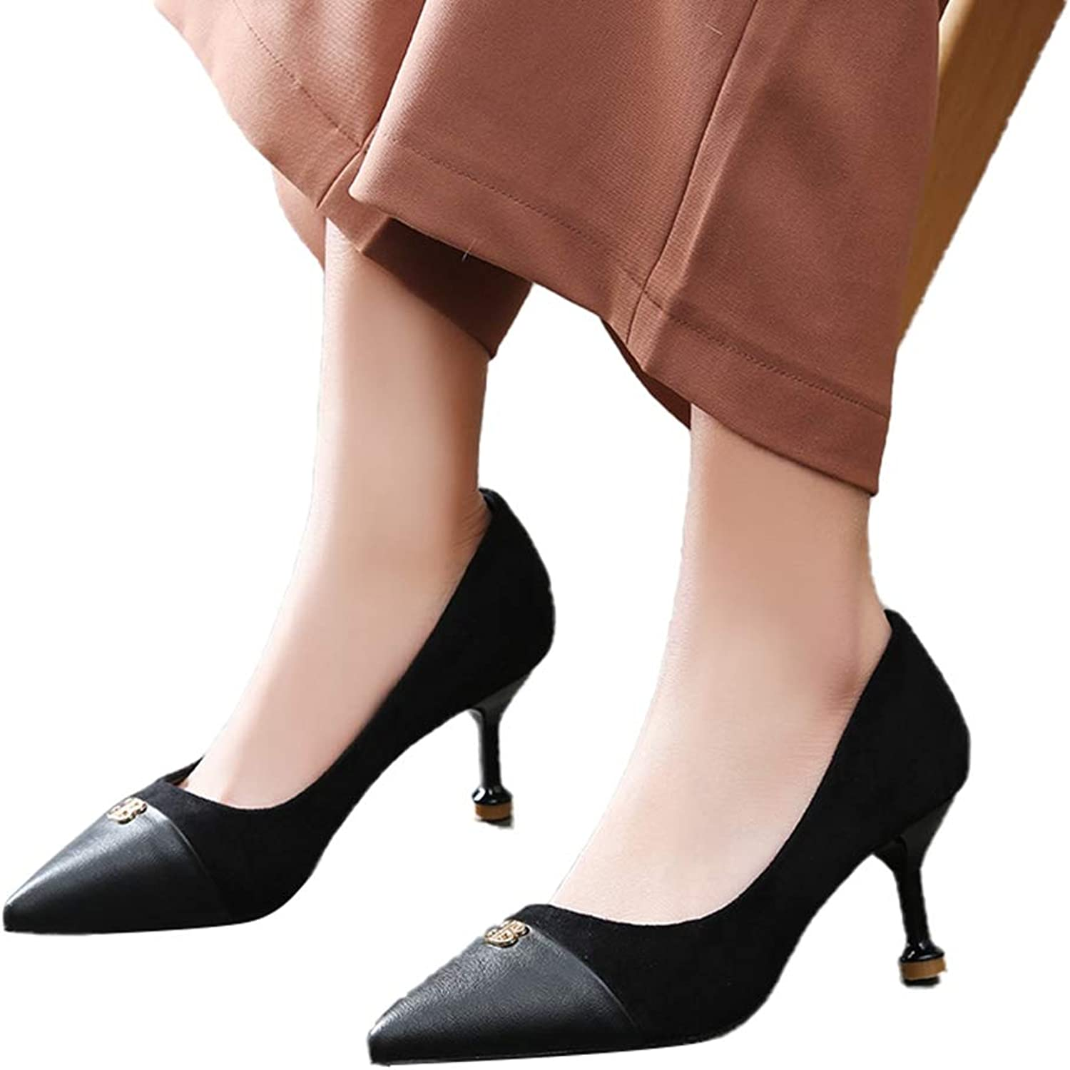 Women's Pumps,Spring Casual Leopard Pattern Comfortable Slip-on Party shoes