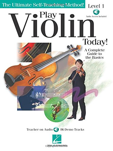 Price comparison product image Play Violin Today!: A Complete Guide to the Basics Level 1 (Ultimate Self-Teaching Method!)