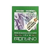 Fabriano 22529742Block, FSC 100% Riciclata, Bianco, 29,7x 42x 0,5cm...