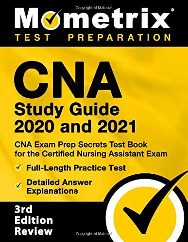 CNA Study Guide 2020 and 2021 CNA Exam Prep Secrets Test Book for the Certified Nursing Assistant product image