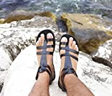 Men gladiator handmade leather sandals Greek Roman all Sizes - FASCINATION