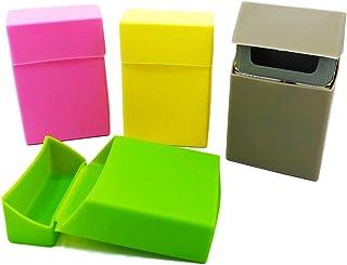 Scatola portasigarette in silicone per scatola di sigarette, set da 4 pezzi