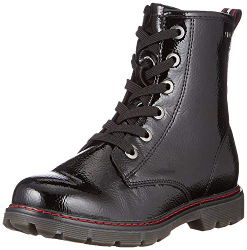 TOM TAILOR Mädchen 9071602 Halblange Stiefel, Black, 39 EU