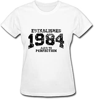 Best Maeking Gray Unofficial Established_1984 T-shirt Women