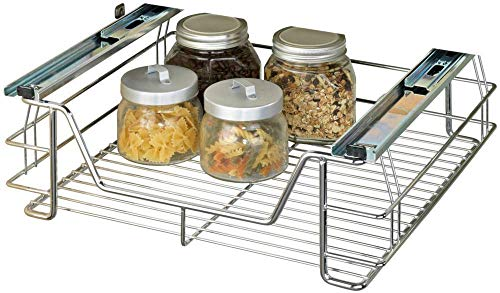 Wenko 5921500 - Cesto extraíble para armarios de Cocina (tamaño Mediano)