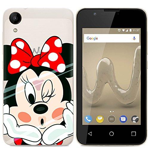 Easbuy Handy Hülle Soft Silikon Hülle Etui Tasche für Wiko Sunny 2 sunny2 Smartphone Cover Handytasche Handyhülle Schutzhülle