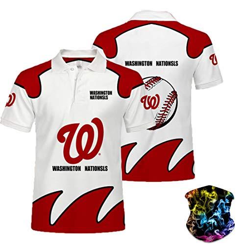 Baseball T-Shirt Frauen Nationals, modische rote Outdoor-Sportbekleidung für Männer-5XL