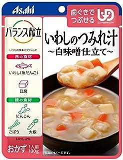 ◆アサヒグループ食品 バランス献立 いわしのつみれ汁白味噌仕立て 100g【3個セット】
