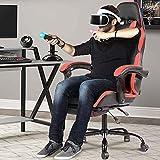 Zoom IMG-1 bakaji sedia poltrona gaming scrivana
