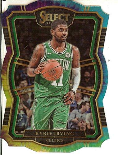 Select 2017-18 Tie-Dye Prizms Die-Cut #109 Kyrie Irving Premier Level 3/25 Celtics image