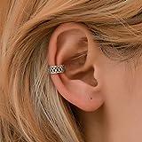 Yienate - Pendientes de estilo bohemio con corte vintage, diseño de punk, círculos, orejas perforadas, para mujeres y...