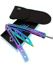 Bokhammer Legaler Butterfly - Juego completo de entrenamiento de mariposa con diseño de arco iris, incluye destornillador, tornillos de repuesto y más