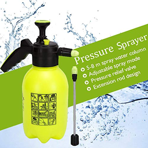 MIGAGA Sprayer Master 2.0, 0.5 Gallon Garden Sprayer & Mister Multi-Purpose Sprayer for Killing Weeds and Insects and Cleaning