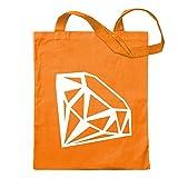 宝石用原石 KIWISTAR - Gemstone Gemstone 12色展開のジュートバッグ - プリンセスの言葉をモチーフにしたコットンのバッグ