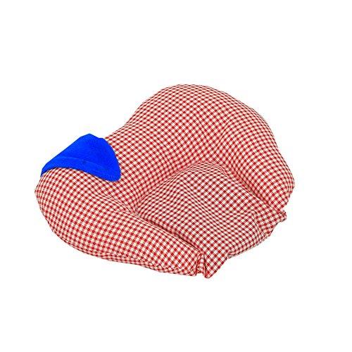 Kouber Industries de moutarde (Rai) Taie d'oreiller – en forme de pomme (Coton), Rose