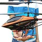 Modellauto-USB-Ladekabel Fernbedienung Hubschrauber Spielzeug mit LED-stabilisierendes System Indoor/Outdoor Red Spielzeug-Flugzeug Hubschrauber 3.5 Kanal RC Hubschrauber Drone Geschenke for Teenage