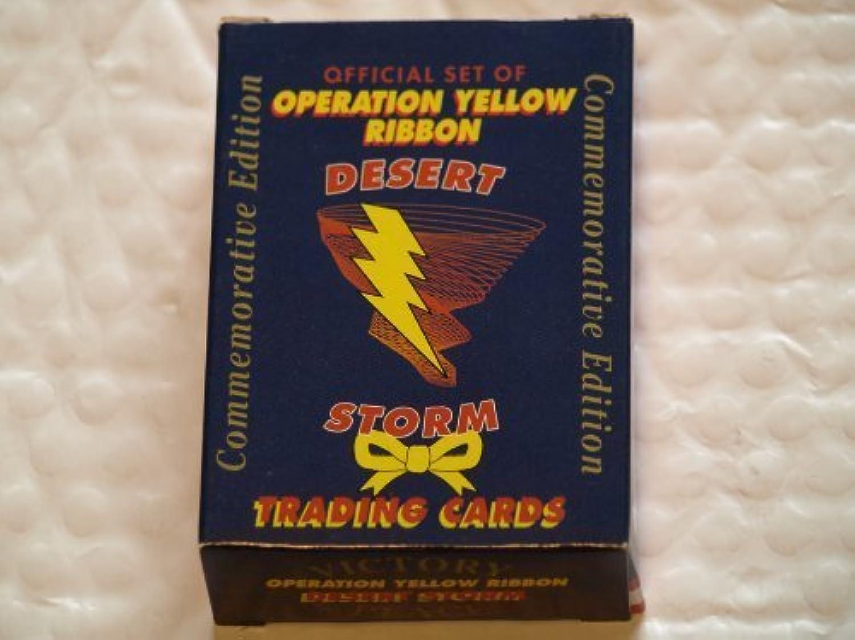 Desert Storm Operation Gelb Ribbin Trading Cards by AAA Sports B00ZDMOLCI Neuheit Spielzeug  | Die Königin Der Qualität