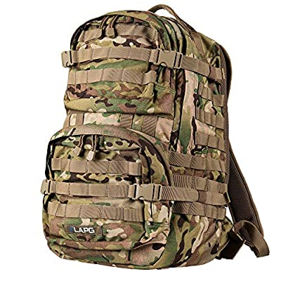 LA Police Gear 3 Day Tactical Backpack for Hunting, Military, Camping, Hiking, and Survival 2.0-Multicam