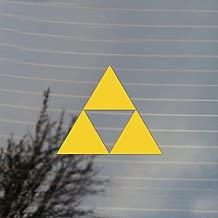 Gaming Triangle Vinyl Decal (Sunflower Yellow)