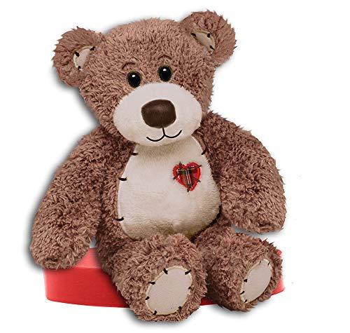 "First & Main 8"" Brown Tender Teddy Bear"