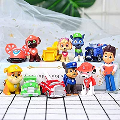 paw patrol cake decorations