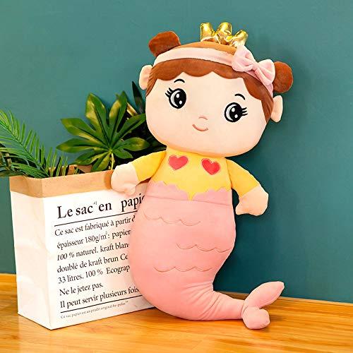 Bambola con Cuscino a Sirena Bambola di Peluche Carina Bambola da Letto Bambola di pezza Abbraccio Orso Bambola di Peluche 85 cm 0,7 kg B.