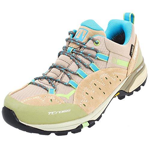 Tecnica - T-cross low ld gtx vibram - Chaussures marche randonnées - Beige - Taille 37.5