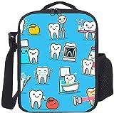 Kids Lunch Box Isolierte gesunde Zahnpflege...