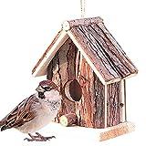 Caja de nido de pájaros Casa de pájaros para jardín Casas de pájaros Rspb Caja de pájaros Caja...