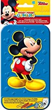 Disney Mickey Mouse Sticker Activity Kit | Party Favor | 1 plastic case with 20 activity pages and 4 markers