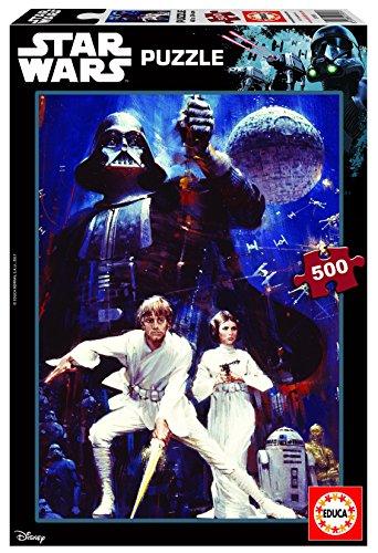 Educa Borrás - 500 Star Wars Episodio IV, Una Nueva Esperanza, Puzzle (17093)