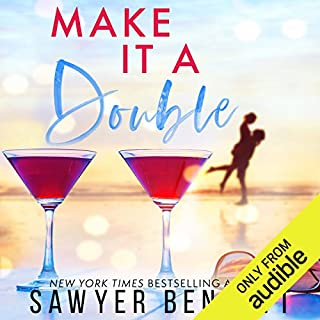 Make It a Double                   By:                                                                                                                                 Sawyer Bennett                               Narrated by:                                                                                                                                 Douglas Berger,                                                                                        Bunny Warren                      Length: 7 hrs and 34 mins     179 ratings     Overall 4.6