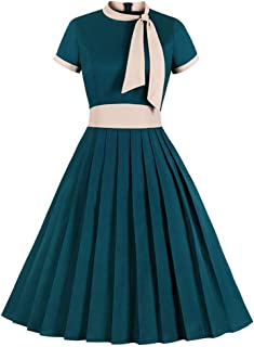 Amazon Fr Robe Annee 30 40 Femme Vetements
