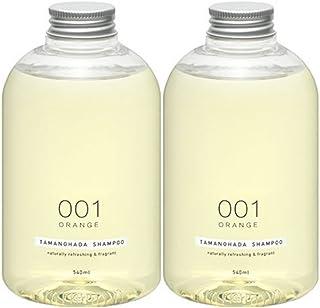 Tamanohada 玉肌 无硅油洗发水套装 001 橙香540ml*2(日本品牌)