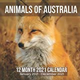 Animals of Australia 12 Month 2021 Calendar January 2021-December 2021: Australian Animal Square Photo Book Monthly Pages 8.5 x 8.5 Inch