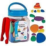 edxeducation-13250 Rainbow Pebbles - Mini Jar