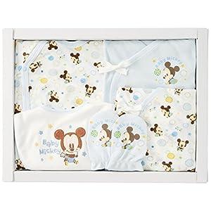 DISNEY BABY(ディズニーベビー) ミッキー 新生児肌着 ギフトセット 3520AGD01