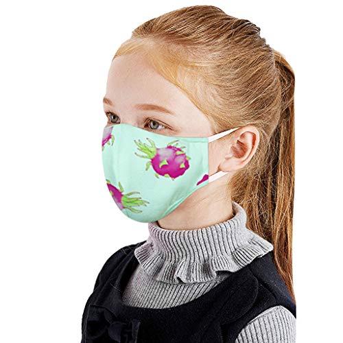 Best Deals! 10PCS Kids Bandanas Face Dust Cloth Scarf Mouth Reusable Washable Fabric Elastic String ...