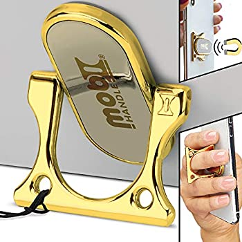 Mobi Handle Phone Ring Holder 3 Finger Grip Kickstand