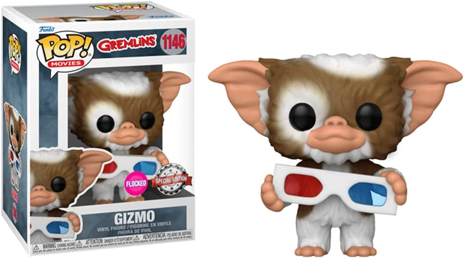 POP! Movies Gremlins 1146 Gizmo Flocked Special Edition