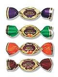 Mangini, Italian Dark and Milk Chocolate Over Mix Fruit Bonbons (Noblesse Choco Fruit) (1.500 Lbs)