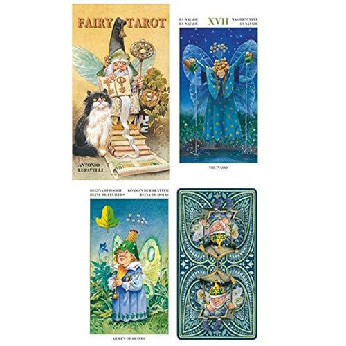 Les Trésors De Lily [A0950 - Tarot Créateur 'Tarot des Lutins' The Fairy - 12x7x3 cm
