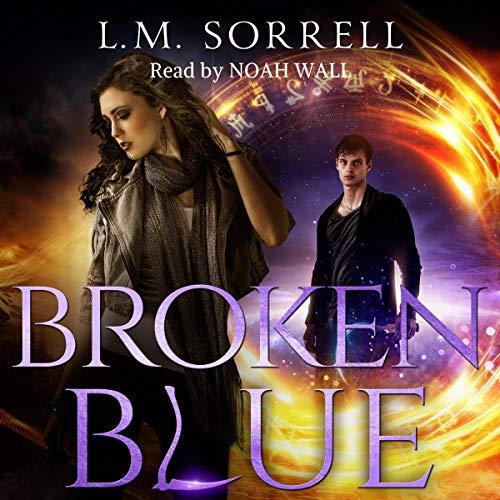 Broken Blue audiobook cover art