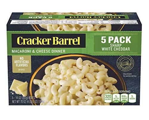 Product of Cracker Barrel Sharp White Cheddar Macaroni amp Cheese Dinner 5 pk/14