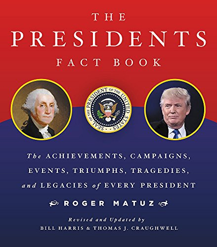 Compare Textbook Prices for The Presidents Fact Book: The Achievements, Campaigns, Events, Triumphs, and Legacies of Every President Revised Edition ISBN 9780316435284 by Matuz, Roger,Craughwell, Thomas J.,Harris, Bill