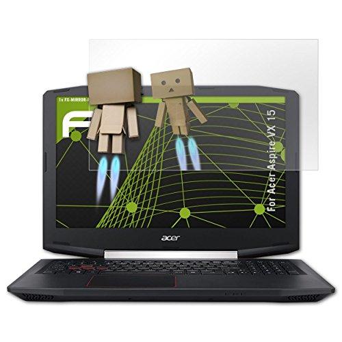 atFolix Bildschirmfolie für Acer Aspire VX 15 Spiegelfolie, Spiegeleffekt FX Schutzfolie
