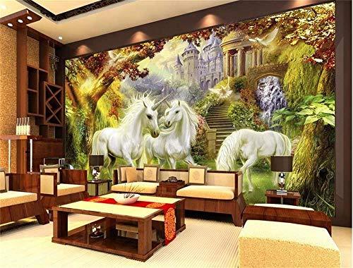 Wallpaper Wandbild 3D-Hintergrundbild/benutzerdefiniertes Foto HD-Wandbild/Alone Gnu River Orest/Wandbild/TV/Sofa/Schlafzimmer/KTV/Bar/Hotel/Wohnzimmer-Über 200 * 140 cm