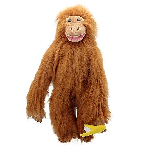 The Puppet Company Grand Primats Orang-outan Marionnette à Main PC004101